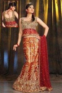 Heavily Embroidered Designer Lehenga Choli Collection 2010