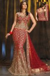 Newly Arrived Mermaid Style Red Lehenga Choli