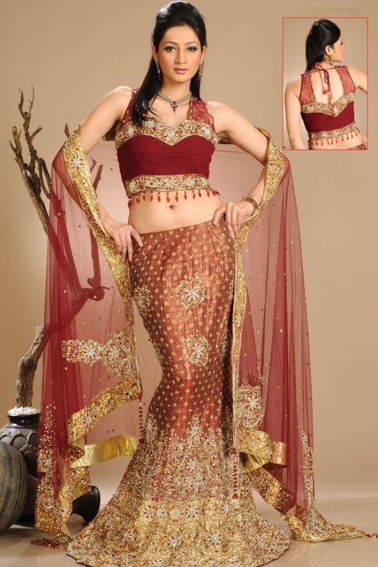 Designer Mermaid Style Lehenga choli 2010
