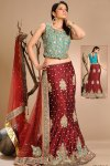Latest Festival Lehenga Choli in Net Fabric
