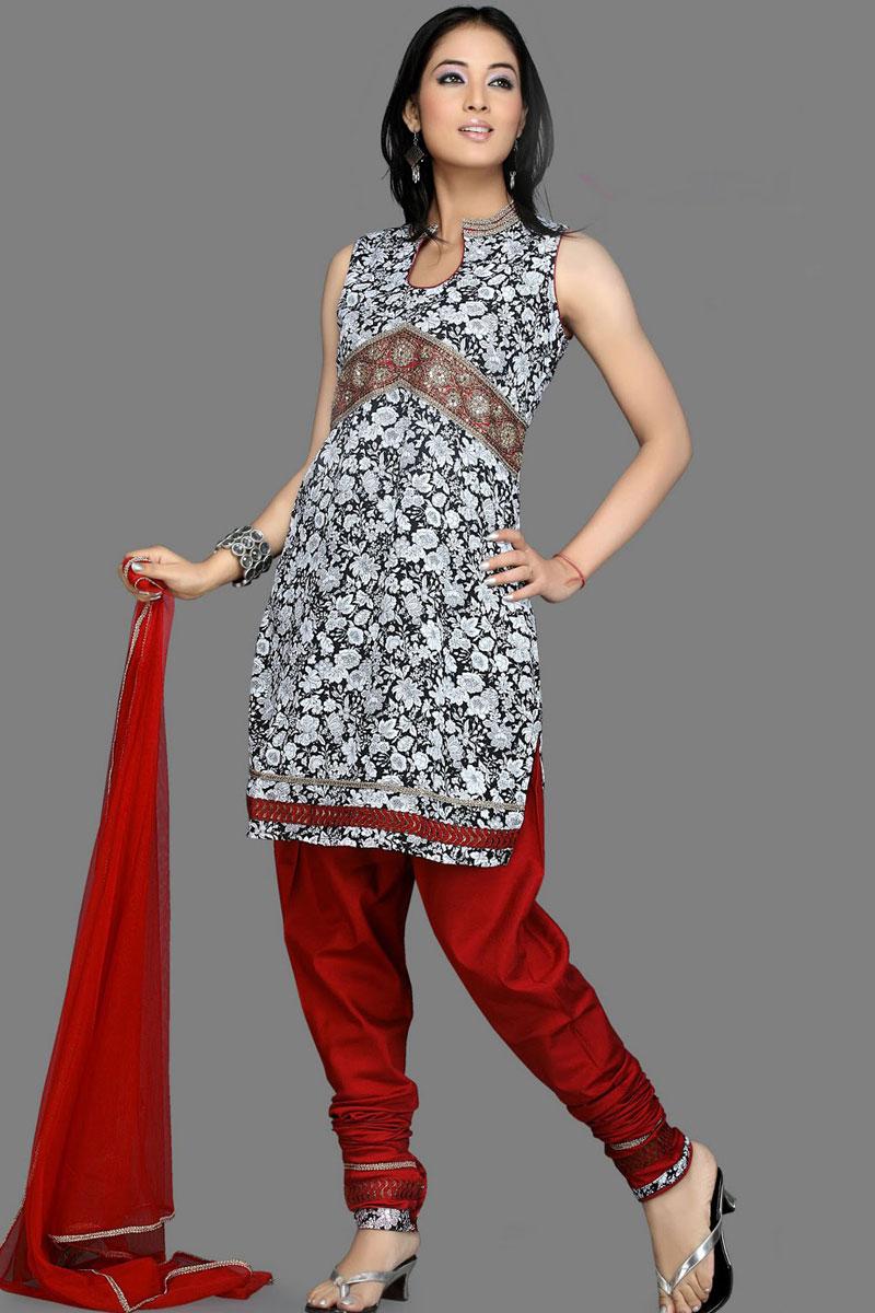 91sl2159 m salwar - Churidar Salwar Kameez Designs 2010