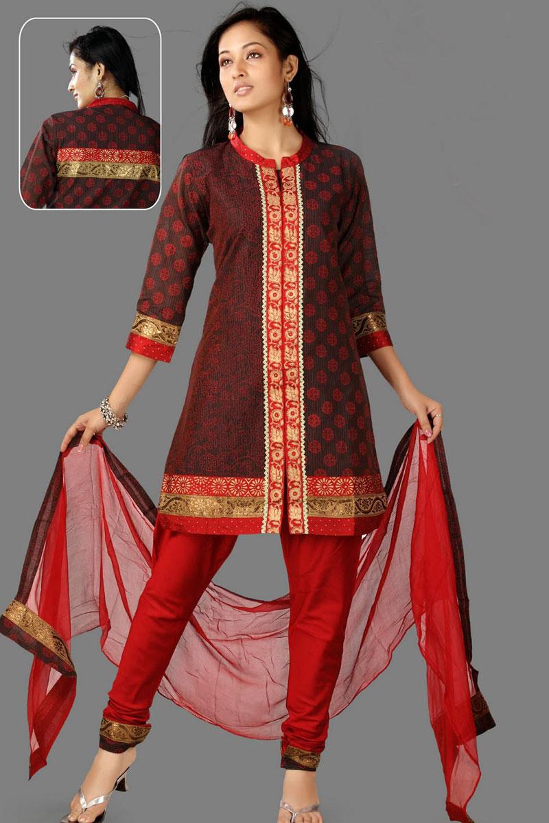 91sl2263 m salwar - Churidar Salwar Kameez Designs 2010