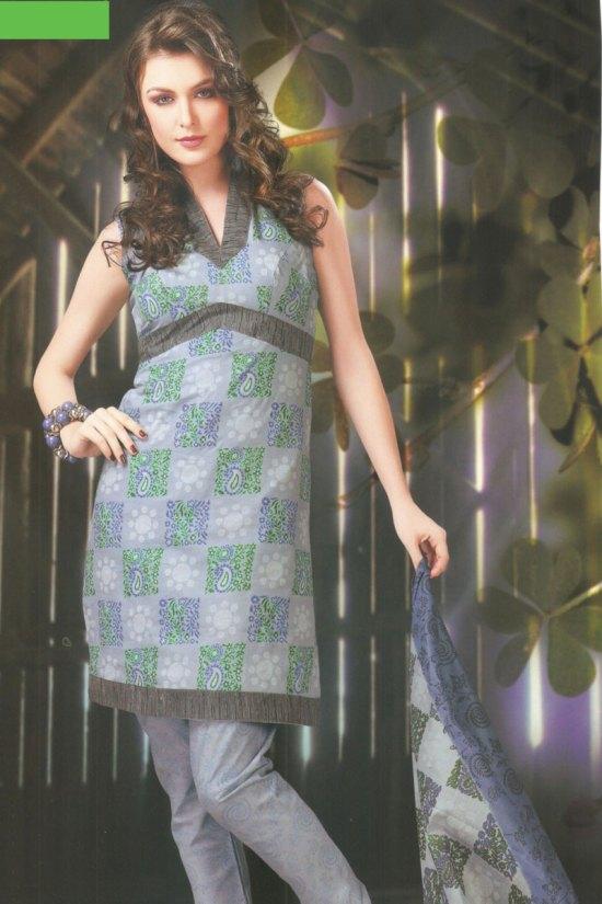 Cotton Casual Chudidar Shalwar Kameez 2010