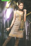 Cheap Casual Cotton Printed Churidar Salwar kameez in Olive Green Color