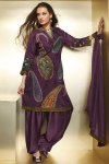 Floral Embroidered Diwali Heavy Shalwar Kameez 2010