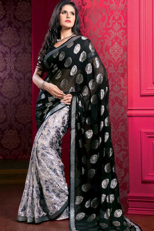 45sa1405 m saree - Indian Designer Party Wear Sarees