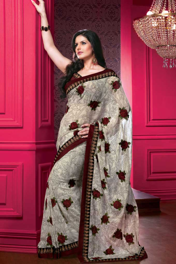 45sa1406 m saree - Indian Designer Party Wear Sarees