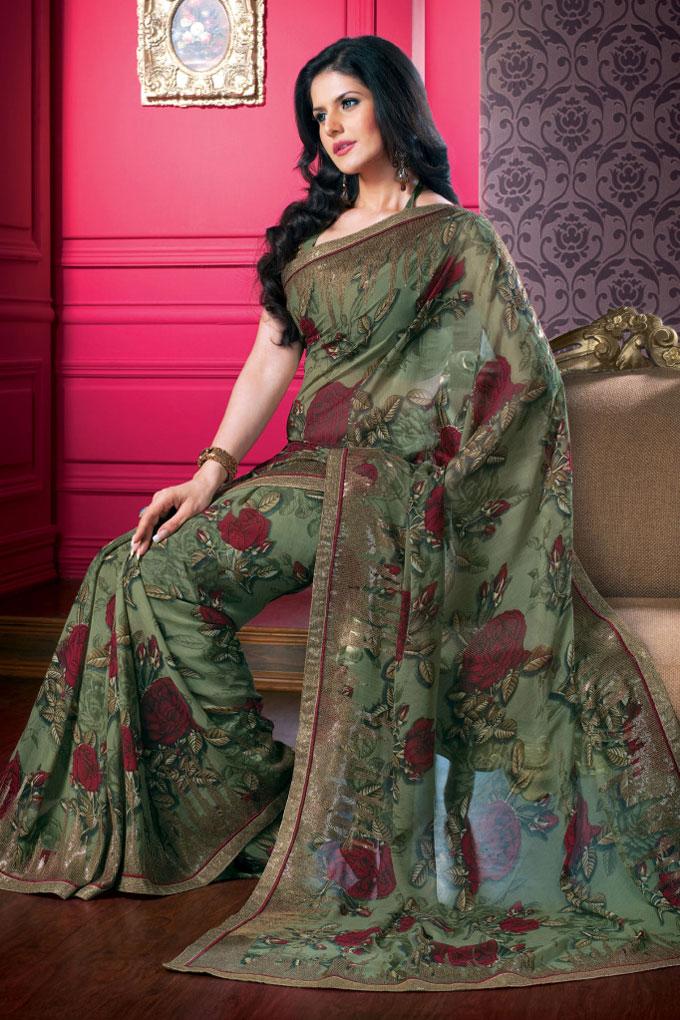45sa1408 m saree - Indian Designer Party Wear Sarees