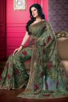 Designer Party Saree with Equally Designer Saree Blouse 2010