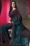 Gorgeous Designer Saree 2010 with matching Saree Blouse 2010