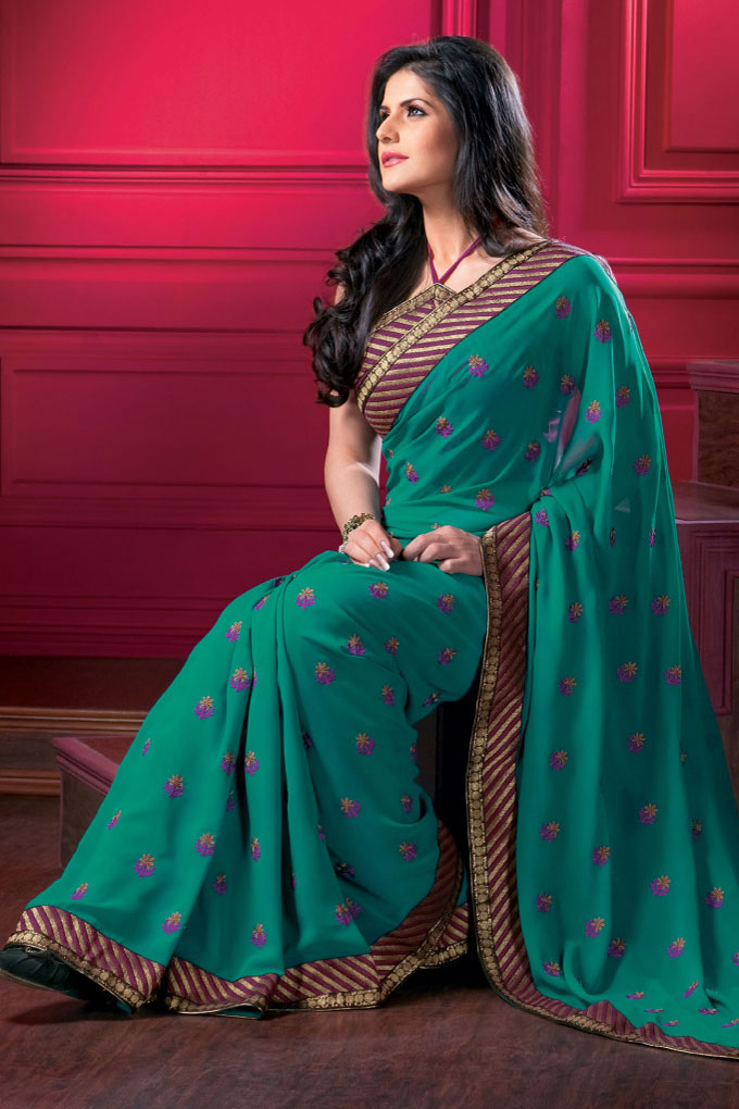 Latest Designer Saree in ...