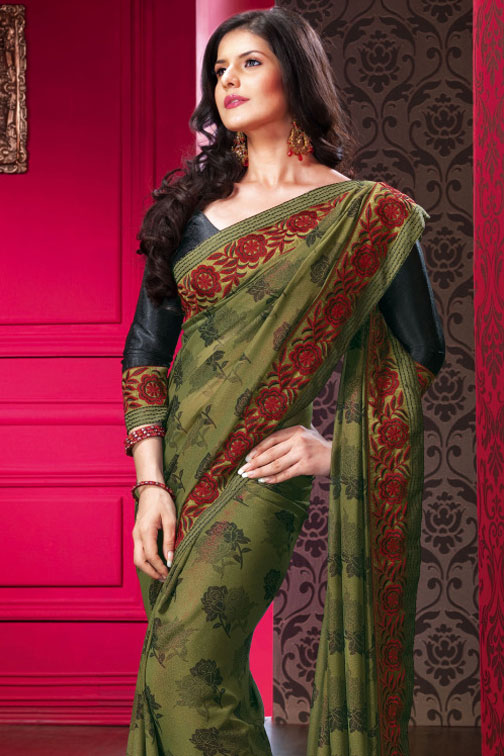 45sa1441 m saree - Indian Designer Party Wear Sarees