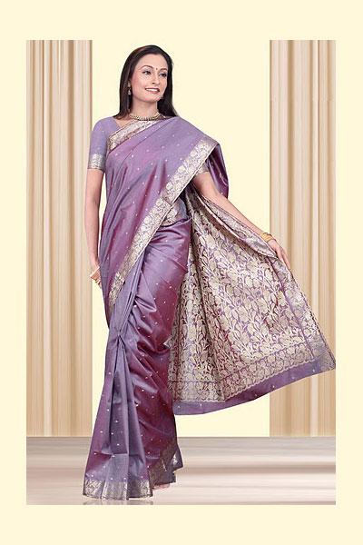 86sa123 m saree - Indian Art Silk Sarees