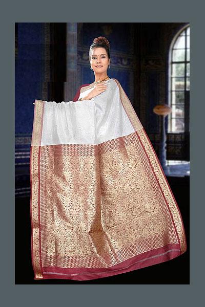 86sa37 m saree - Indian Art Silk Sarees
