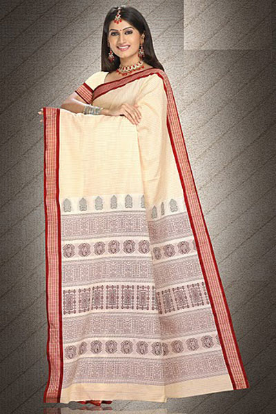 Latest Art Silk Saree in Peach Orange Color for Party and Festival Wear