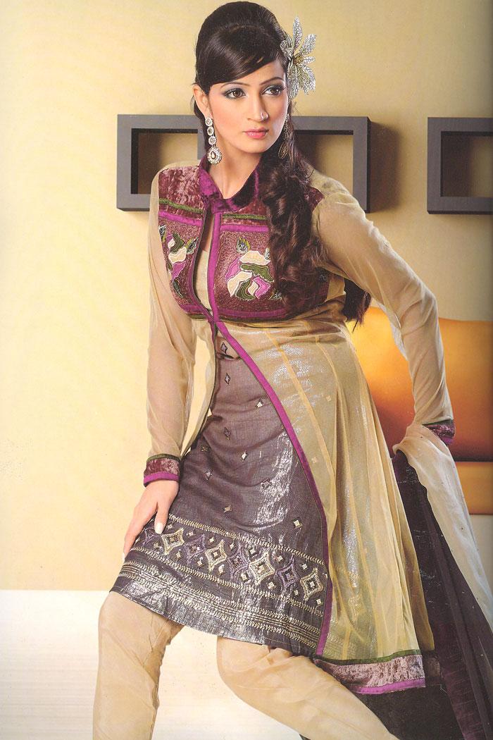 92sa1114a m saree - Indian Anarkali Salwar and Churidar Kameez