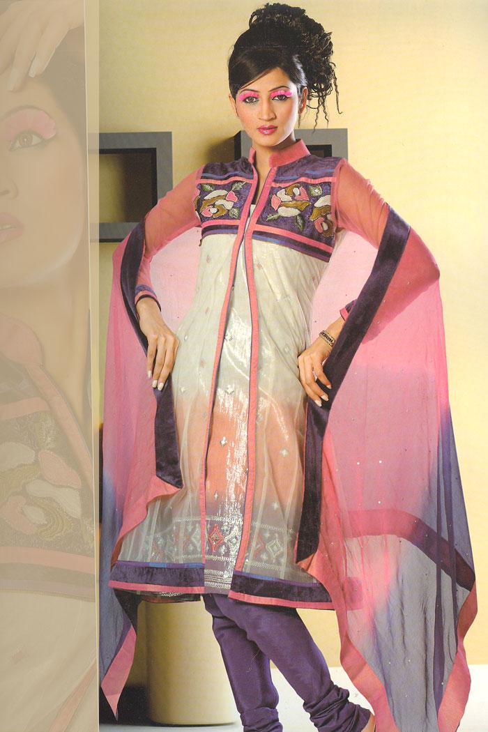 92sa1114b m saree - Indian Anarkali Salwar and Churidar Kameez