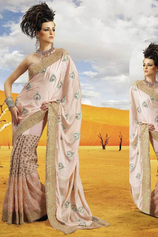 Latest Party Saree Collection for Diwali 2010