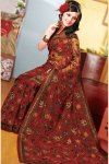 Net Diwali Sarees Collection 2010 for Party Wear