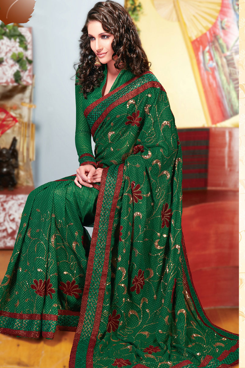 New Indian Saree Sarees In Fashion