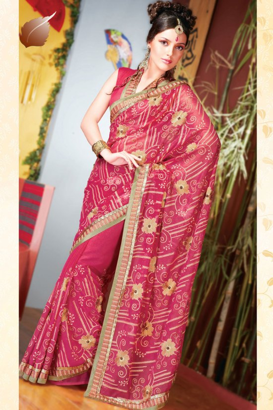 Latest Stunning Diwali Sarees Collection 2010