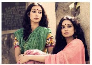 bollywood sarees styles of 1970