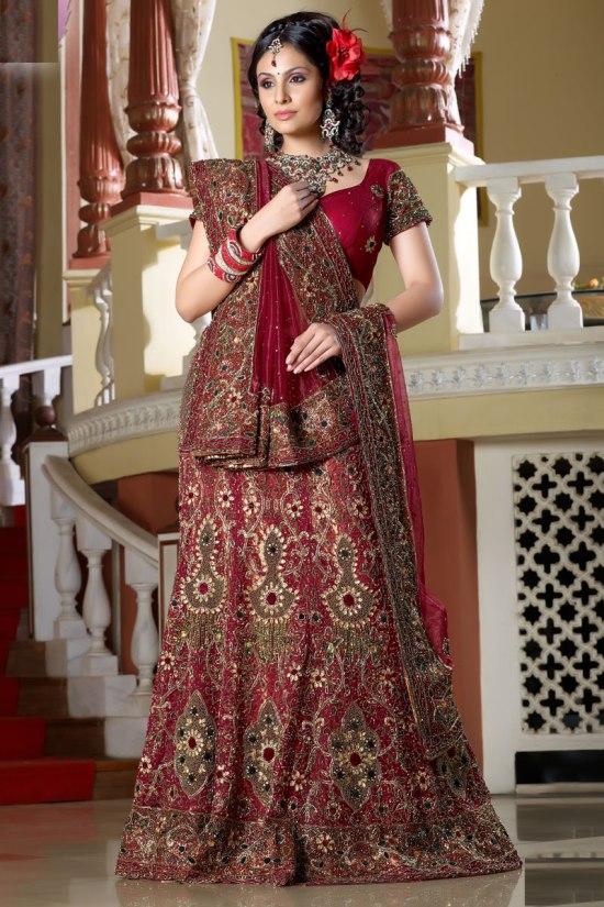 Bridal Lehanga Choli Collection 2011