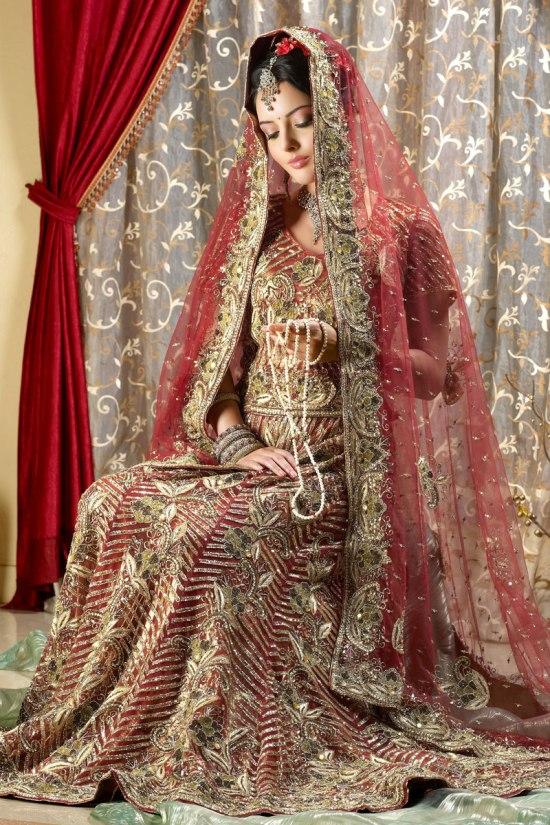 Bridal Lehenga Choli Collection 2011