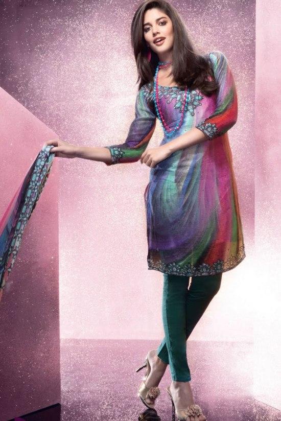 Partywear Churidar Salwar Kameez