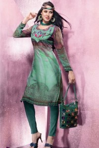 Designer Churidar Salwar Kameez for Party Wear