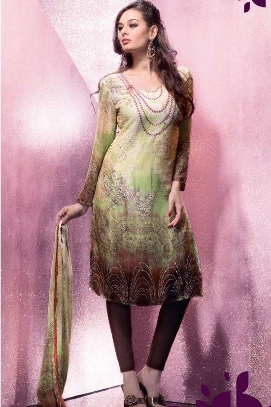Churidar Salwar Kameez for Casual Wear