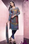 Casual Wear Salwar Kameez with Churidar