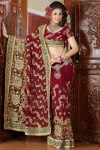 Red Designer Sarees Collection 2011