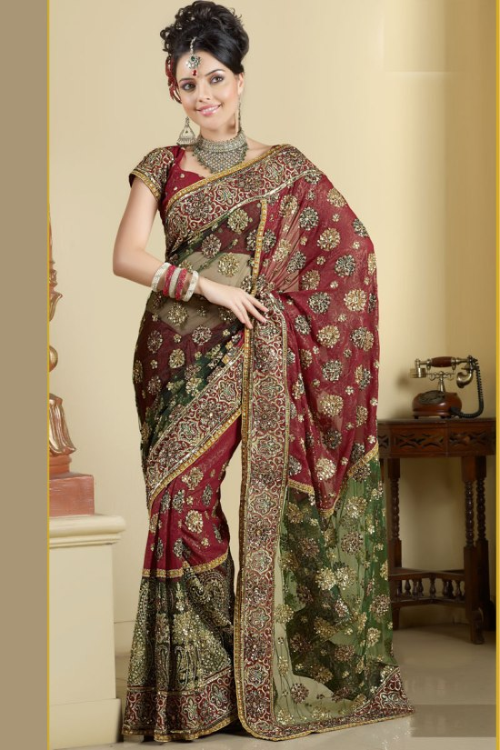 Embroidered Sarees Collection 2011