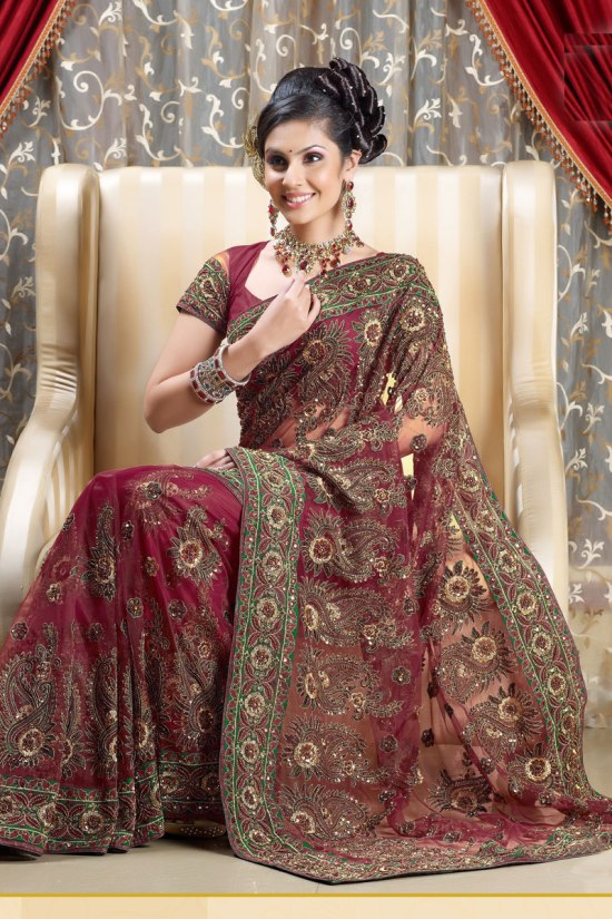 Heavy Designer Sarees Collection 2011