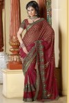 Designer Saree with Heavy Saree Border