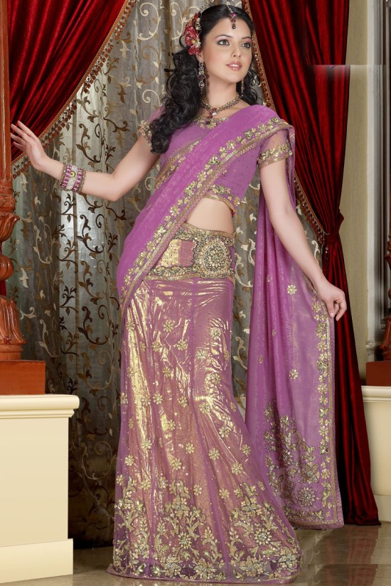 Latest Lehenga Style Sarees for 2011