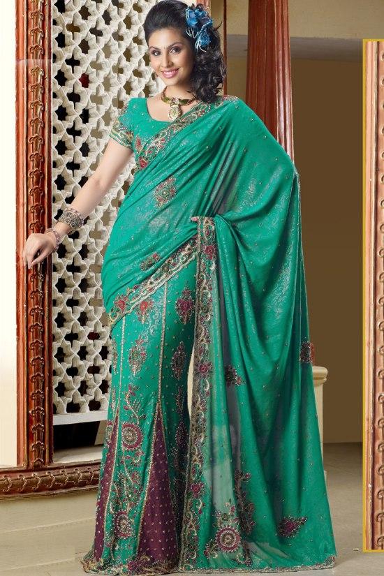 Latest Lehenga Saree collection 2011