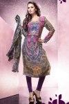 Churidar Salwar Kameez with Full Sleeves