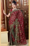Traditional Saree with Free Saree Blouse Designs