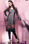 Latest Printed Churidar Salwar Kameez 2011