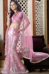 Pink Wedding Lehenga Choli for 2011