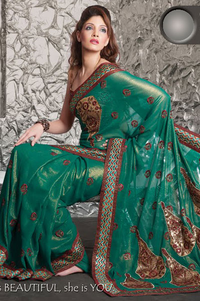 Latest Fashion Trends 2011  Kids on Check Out The Latest Saree Trends For 2011    Best Deals On Modern