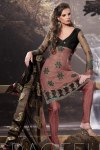 Latest Embroidered Festival Churidar Kameez