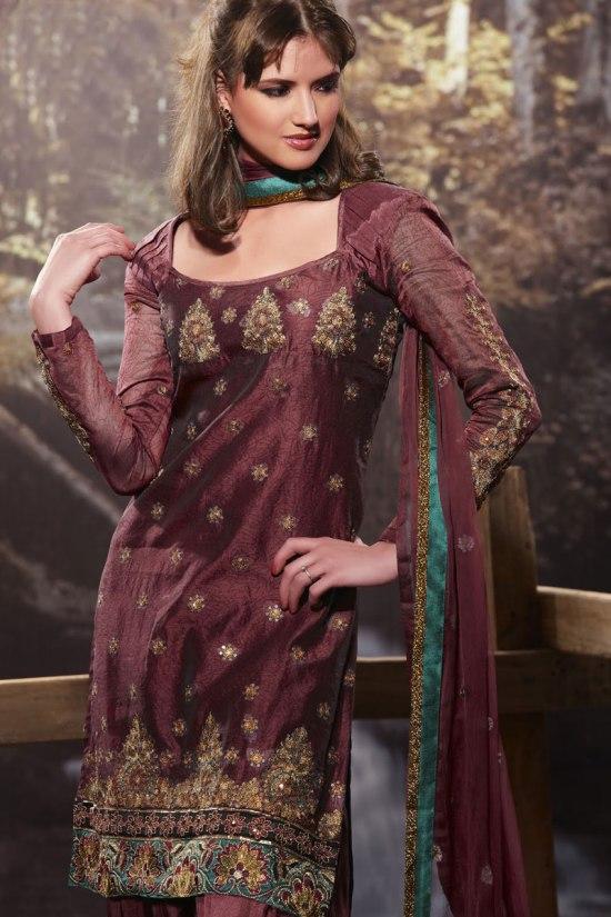 Designer Churidar Salwar Kameez 2011 Collection
