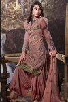 Baggy Puff Sleeves Churidar Salwar Kameez 2011
