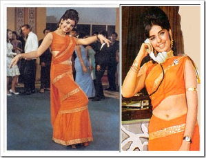 mumtaz in sharara saree