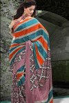 Printed Party Saree