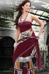 Designer Printed Party Sarees 2011