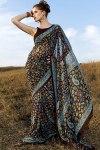 Designer Floral Printed saree